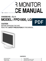 Lg (Cl-11) Lg881y Fpd1800 Lcd