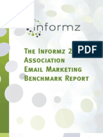 2011 Informz Inc Association Email Marketing Benchmark Report