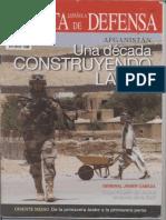 Afganistán. Una década construyendo la paz