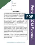 Feb. 2012 Minn. budget forecast