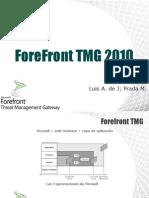 ForeFrontTMG2010 Presentacion(Luis Prada)