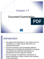 Ch 17 Document Examination S
