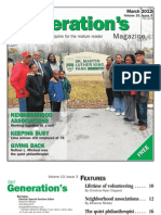 Our Generation's Magazine - March 2011