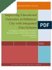 Longitudinal Databases in Balt City - Abell Policy Award Paper 030510 (ID) v3