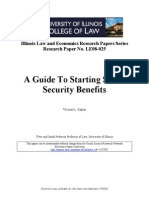 A Guide to Starting Social Security Benefits