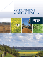 Environment Geosciences Brochure
