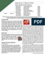 Mar4 Bulletin