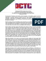 Dctc Mpd Oversight Testimony 02-29-12