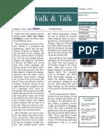 March 2012 RiverWalk & Talk
