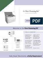 Parasite Cleansing Kit User Guide
