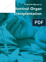 Transplantation - Practical Manual of Abdominal Organ Transplantation - 2002