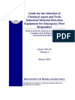 Guide on Selection of Detection Equipment Vol1 2005
