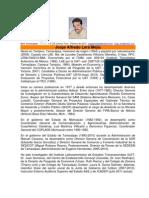 Síntesis Curricular de Jorge Alfredo Lera Mejía
