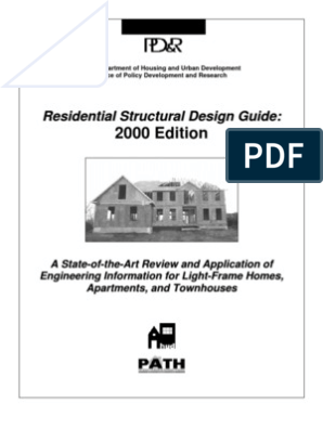 Residential Structural Design Guide | Framing (Construction ... on