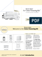 Colon Cleansing Kit Users Guide