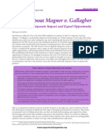 Messaging Memo-Magner v Gallagher