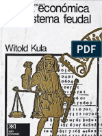 Witold Kula- Teoría económica del sistema feudal