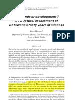 diamonds or development - botswanas 40 years of success