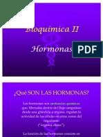 Bioquímica II. Unidad Hormonas