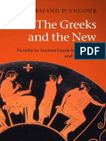the Greeks and the New Novelty in Ancient Greek Imagination and Experience