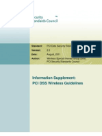 PCI DSS v2 Wireless Guidelines