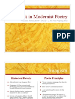 Lindsey on Modernist Poetry