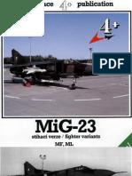 Aviation] - [4+ Publication] - MiG 23 MF ML