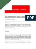 Modificación del art. 132 del Código Penal sobre delitos contra integridad sexual y derogación de la figura de avenimiento