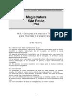 Magistratura SP 2009