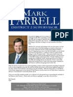 Supervisor Farrell Winter 2012 Newsletter