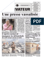 haiti observateur presse