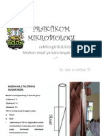 PRAKTIKUM MIKROBIOLOGI