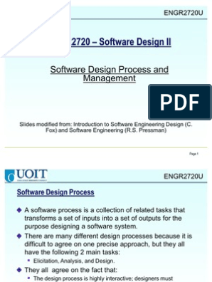 2 Softwareprocessmgt Ch2 Project Management Design