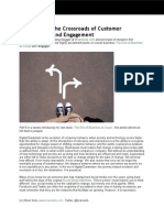 CMO's are at the Crossroads of Customer Transactions and Engagement