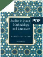 Studies in Hadith Methodology and Literature by Shaykh Muhammad Mustafa al-A'zami