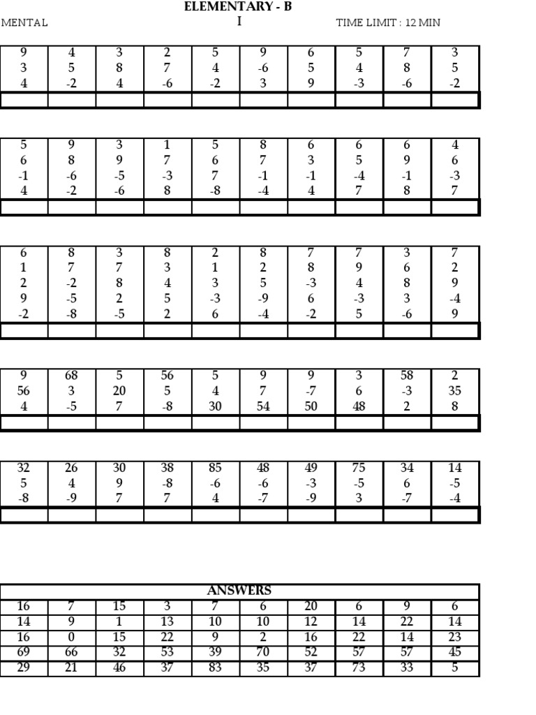 Outstanding Kumon Math Download Picture Collection - General ...