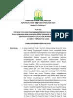 Keputusan Kip Aceh No. 19 Tahun 2011