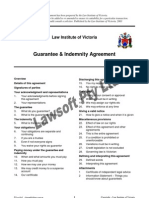 Guarantee & Indemnity Agreement