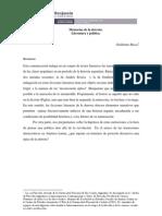 Memorias de La Derrota.literatura y Politica - Guillermo Ricca