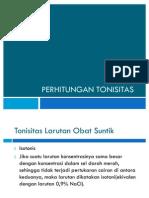 Perhitungan Tonisitas