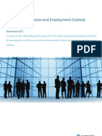Preqin Compensation and Employment Outlook Private Equity December 2011