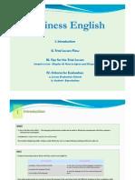 File 1 Business English Pre-Trial Lesson Orientation