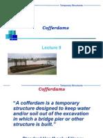 Design of Cofferdam