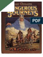 Mythus Dangerous Juourneys GDW