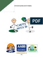 Escolinha Futebol AABB Chute Nota 10