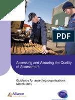 Assessing and Quality Assuring Assessment Guidance Final April10 v1