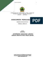 Dokumen Pengadaan Gedung Asrama Perawat