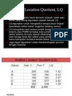 Analisis LQ-Shift Share