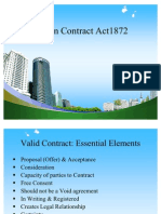Indian Contract Act1872 PPT @ BEC DOMS