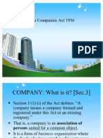 The Companies Act 1956 Ppt @ Bec Doms